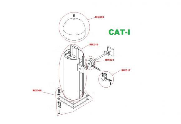 Pièces détachées pour Moteur CAME CAT-I